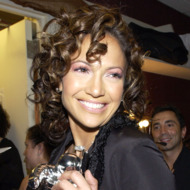 Jennifer Lopez during 2002 MTV Video Music Awards - Backstage and Audience at Radio City Music Hall in New York City, New York, United States. (Photo by KMazur/WireImage)