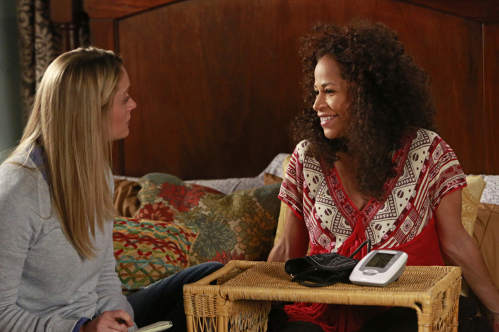 """THE FOSTERS - """"Mother"""" - The Fosters face an unforeseen tragedy in a new episode of """"The Fosters,"""" airing Monday, July 21 at 9:00 p.m. ET/PT on ABC Family. (ABC FAMILY/Ron Tom)TERI POLO, SHERRI SAUM"""