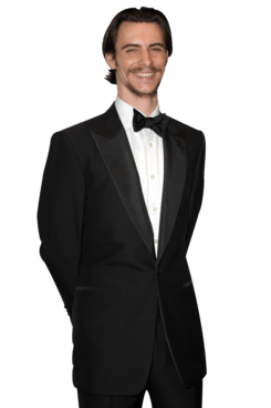 LONDON, ENGLAND - APRIL 15:  Harry Lloyd poses in the press room during the 2012 Olivier Awards at The Royal Opera House on April 15, 2012 in London, England.  (Photo by Ben Pruchnie/Getty Images)