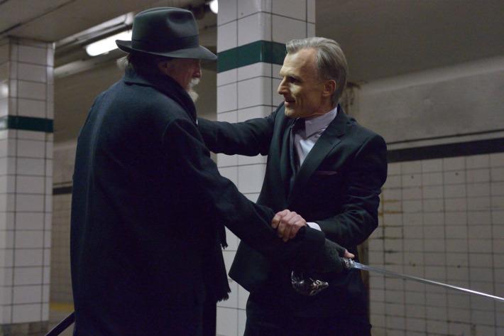 "THE STRAIN ""For Services Rendered"" -- Episode 7 (Airs Sunday, August 24, 10:00 pm e/p) -- Pictured: (L-R) David Bradley as Abraham Setrakian, Richard Sammel as Thomas Eichhorst."