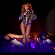 INGLEWOOD, CA - AUGUST 24:  Singer Beyonce performs onstage during the 2014 MTV Video Music Awards at The Forum on August 24, 2014 in Inglewood, California.  (Photo by Kevin Winter/MTV1415/Getty Images for MTV)