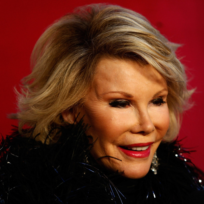 SYDNEY, AUSTRALIA - MARCH 07: American personality Joan Rivers participates during the annual Sydney Gay and Lesbian Mardi Gras Parade on Oxford Street on March 7, 2009 in Sydney, Australia. The annual parade, which has been going since June 1978, has a 2009 theme of