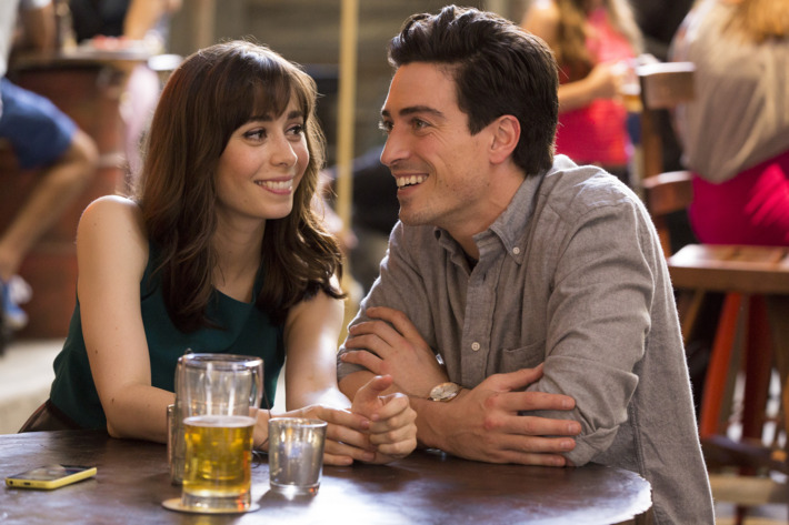 """A TO Z -- """"C is For Curiouser & Curiouser"""" Episode 103 -- Pictured: (l-r) Cristin Milioti as Zelda, Ben Feldman as Andrew -- (Photo by: Jessica Brooks/NBC)"""