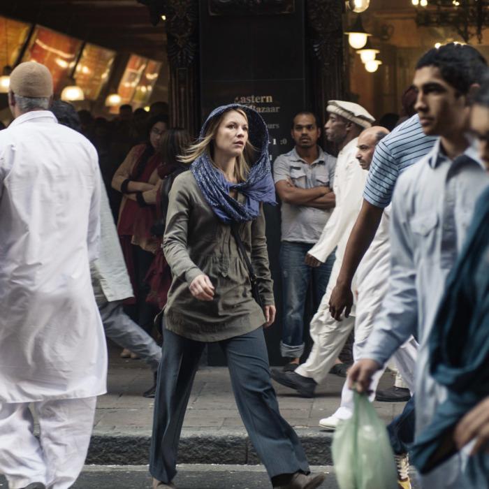 Claire Danes as Carrie Mathison in Homeland (Season 4, Episode 03). - Photo: Joe Alblas/SHOWTIME - Photo ID: homeland_403_05646.R