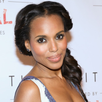 NEW YORK, NY - SEPTEMBER 22: Kerry Washington at The Limited Collection Inspired by Scandal Launch Event at IAC Building on September 22, 2014 in New York City. (Photo by Nomi Ellenson/WireImage)