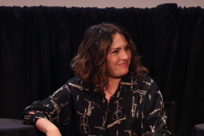 NEW YORK, NY - OCTOBER 11:  Comedian and TV Writer Jill Soloway  attends - LGBTQ TV: Brad Falchuk, Jenji Kohan, Michael Lannan, Peter Paige, and Jill Soloway Moderated by Emily Nussbaum on October 11, 2014 in New York City.  (Photo by Anna Webber/Getty Images for The New Yorker)