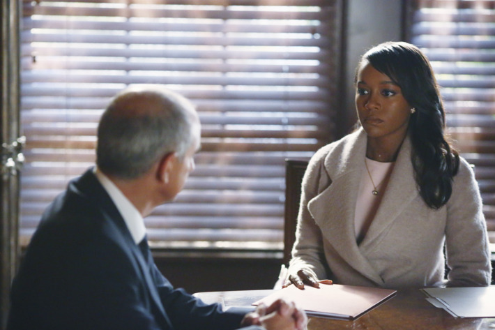 """HOW TO GET AWAY WITH MURDER - """"He Deserved to Die"""" (ABC/Michael Ansell)DEAN BUCHANAN, AJA NAOMI KING"""