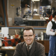 "NEWSRADIO -- ""Negotiation"" Episode 8 -- Pictured: Phil Hartman as Bill McNeal -- Photo by: Don Cadette/NBCU Photo Bank"