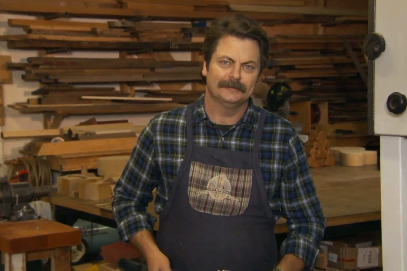 Nick Offerman Wants To Sell You Handcrafted Wooden Emoji