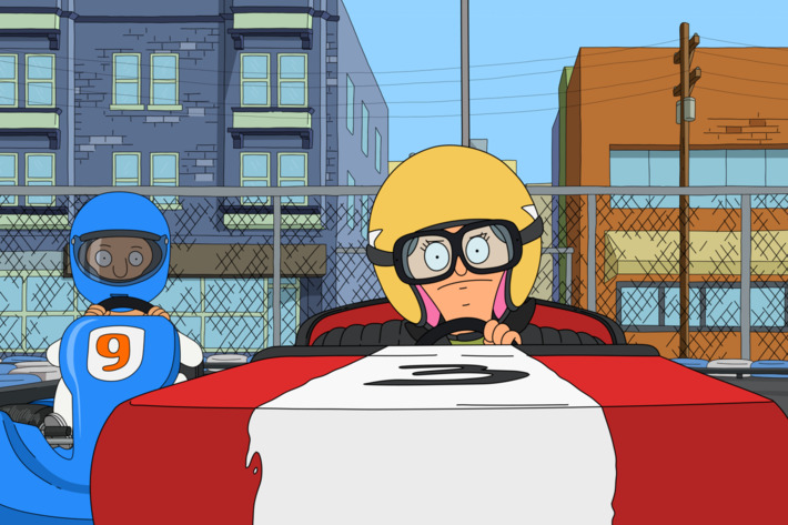 """BOB'S BURGERS: Tina, Gene and Louise are ready to put the pedal to the metal when they join a go-kart league in the all-new """"Speakeasy Rider"""" episode of BOB'S BURGERS airing Sunday, Jan. 11 (9:30-10:00 PM ET/PT) on FOX. BOB'S BURGERS ? and ? 2015 TCFFC ALL RIGHTS RESERVED."""