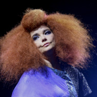 OTTAWA, ON - JULY 13:  Bjork performs on Day 9 of the RBC Royal Bank Bluesfest on July 13, 2013 in Ottawa, Canada.  (Photo by Mark Horton/WireImage)