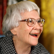 "WASHINGTON - NOVEMBER 05:  Pulitzer Prize winner and ""To Kill A Mockingbird"" author Harper Lee smiles before receiving the 2007 Presidential Medal of Freedom in the East Room of the White House November 5, 2007 in Washington, DC. The Medal of Freedom is given to those who have made remarkable contributions to the security or national interests of the United States, world peace, culture, or other private or public endeavors.  (Photo by Chip Somodevilla/Getty Images) *** Local Caption *** Harper Lee"