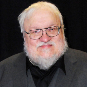 Writer George R.R. Martin arrives at the 2015 Writers Guild Awards at the Hyatt Regency Century Plaza on February 14, 2015 in Los Angeles, California.
