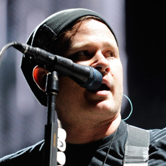 Blink-182 performs at the Red Rock Casino as the band tours in support of the new album,