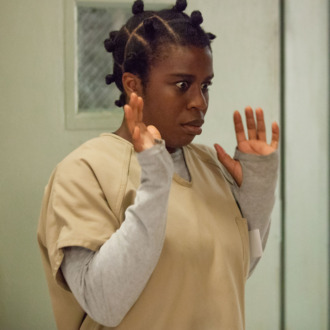 "Uzo Aduba in a scene from Netflix's ""Orange is the New Black"" Season 2. Photo credit: Jessica Miglio for Netflix."
