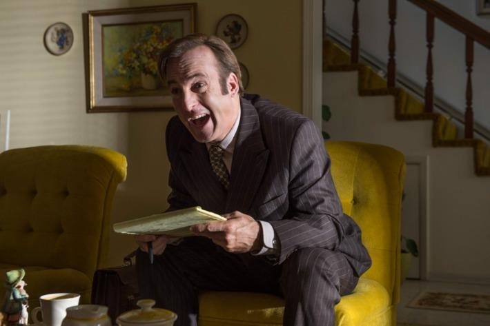 Bob Odenkirk as Jimmy McGill - Better Call Saul.