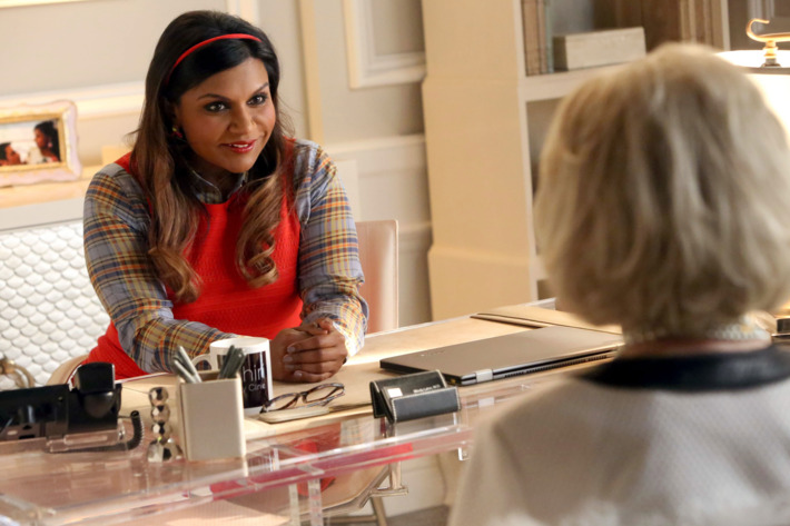 """THE MINDY PROJECT:  Mindy (Mindy Kaling) finds it challenging to attract new patients to her fertility clinic in the """"Fertility Bites"""" episode of THE MINDY PROJECT airing Tuesday, March 3 (9:30-10:00 PM ET/PT) on FOX. ?2015 Patrick McElhenney/FOX"""