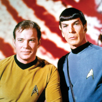 STAR TREK, William Shatner, Leonard Nimoy, 1966-1969. ?Paramount. Courtesy: Everett Collection