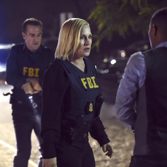 Patricia Arquette on <i>CSI: Cyber</i>.