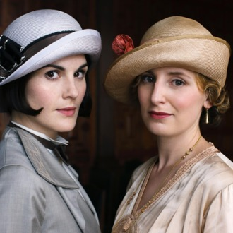 Downton Abbey Season 5 on MASTERPIECE on PBSPart EightSunday, February 22, 2015 at 9pm ETSomeone tries to derail Rose and Atticus's happiness. Mrs. Patmore gets a surprise. Anna isin trouble. Robert has a revelation.Shown from left to right: Michelle Dockery as Lady Mary and Laura Carmichael as Lady Edith(C) Nick Briggs/Carnival Films 2014 for MASTERPIECEThis image may be used only in the direct promotion of MASTERPIECE CLASSIC. No other rights are granted. All rights are reserved. Editorial use only. USE ON THIRD PARTY SITES SUCH AS FACEBOOK AND TWITTER IS NOT ALLOWED.