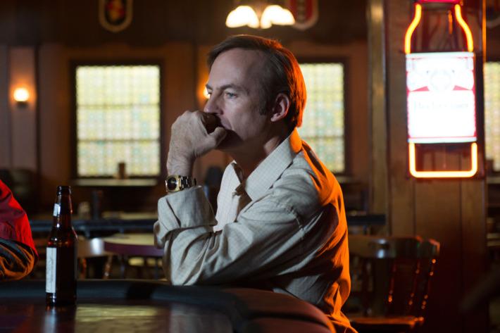Bob Odenkirk as Jimmy McGill - Better Call Saul _ Season 1, Episode 10 - Photo Credit: Ursula Coyote/AMC
