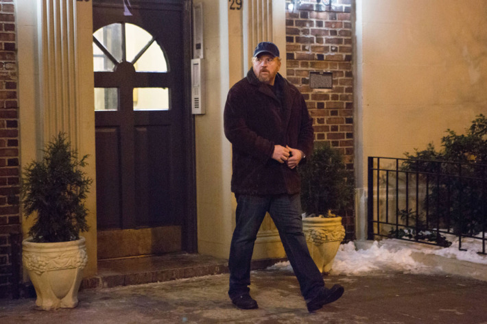 "LOUIE: Season 5, Episode 1: ""Pot Luck"" (Airs Thursday, April 9, 10:30 pm e/p). Pictured: Louis C.K. as Louie. CR: KC Bailey/FX"