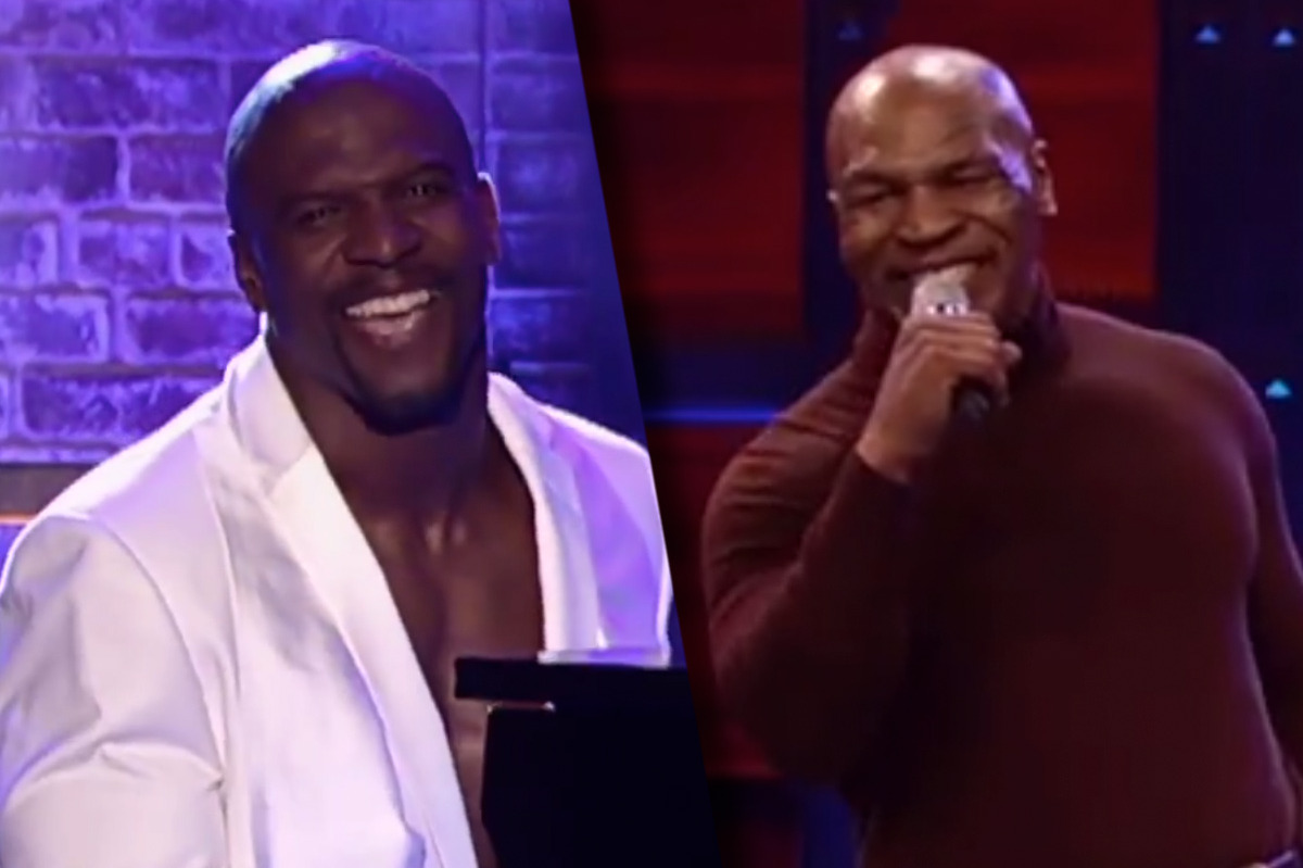 Terry Crews Vs Mike Tyson Is The Greatest Lip Sync Battle Mismatch