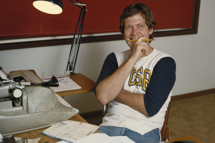 American comedian and television show host David Letterman, circa 1980. (Photo by Maureen Donaldson/Getty Images)