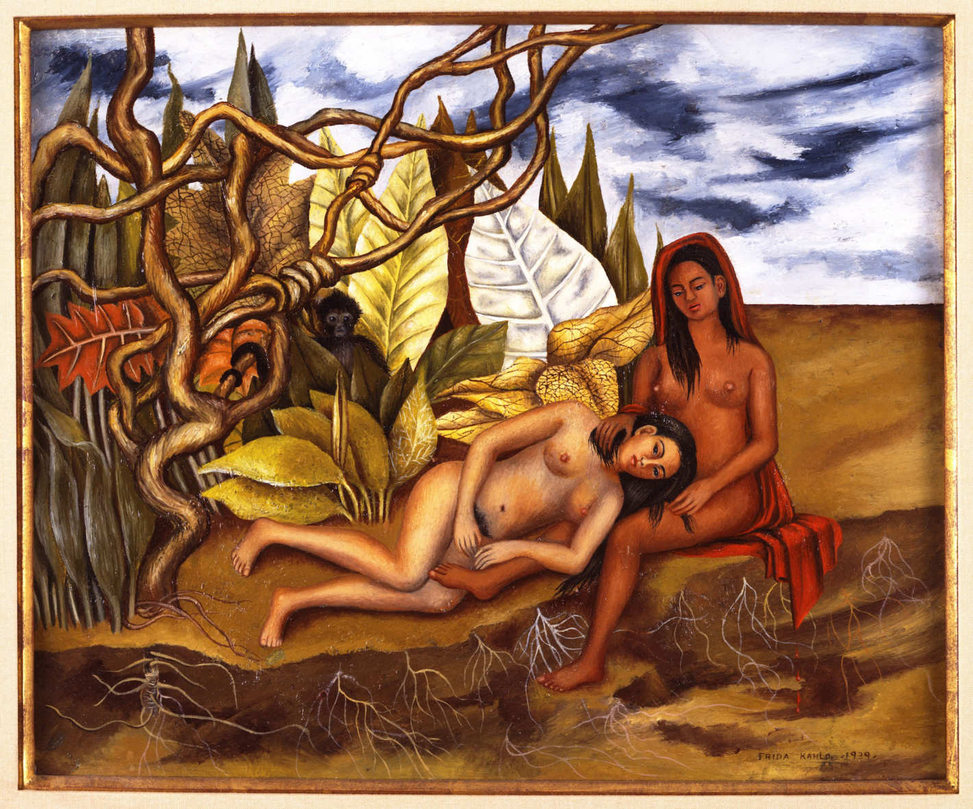 Paintings of nude mexican women