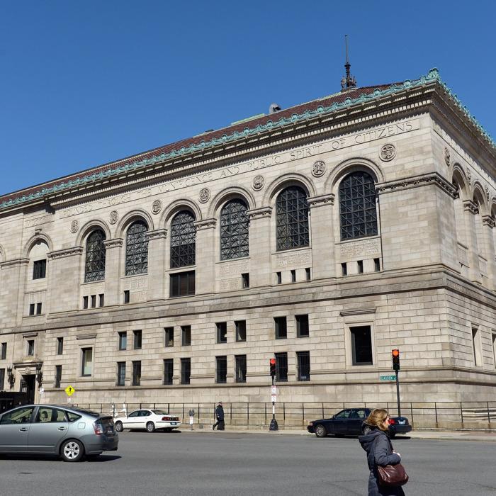 Boston Exteriors And Landmarks