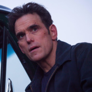 """WAYWARD PINES:  Ethan (Matt Dillon) thinks he has found a way out of town in the """"Our Town, Our Law"""" episode of WAYWARD PINES airing Thursday, May 28 (9:00-10:00 PM ET/PT) on FOX.  ©2015 Fox Broadcasting Co.  Cr:  Liane Hentscher/FOX"""