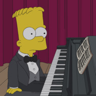 """THE SIMPSONS: Bart plays piano in a talent show in the all-new """"The Fabulous Faker Boy"""" episode of THE SIMPSONS airing Sunday, May 12 (8:00-8:30 PM ET/PT) on FOX.  THE SIMPSONS ™ and © 2013 TCFFC ALL RIGHTS RESERVED."""