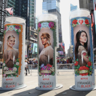 """""""Orange Is The New Black"""" Takes Over Times Square"""