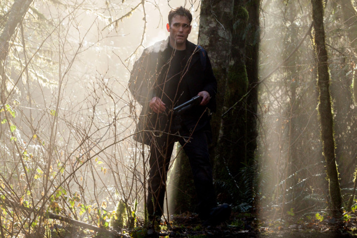 "WAYWARD PINES:  Ethan (Matt Dillon) ventures out of Wayward Pines in the ""The Truth"" episode of WAYWARD PINES airing Thursday, June 11 (9:00-10:00  PM ET/PT) on FOX.  ©2015 Fox Broadcasting Co.  Cr:  Liane Hentscher/FOX"