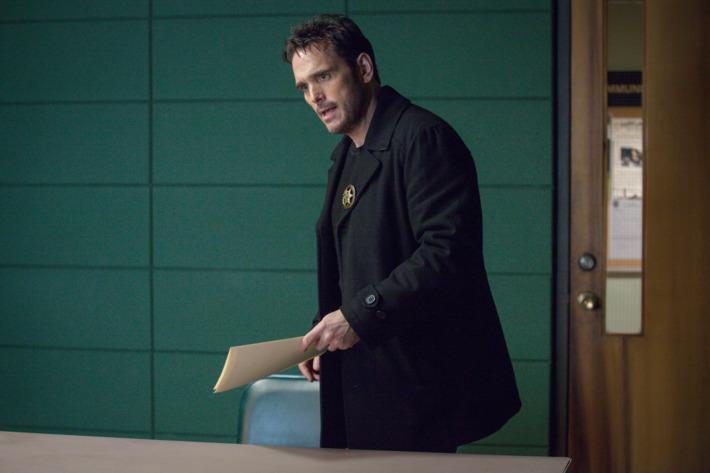 "WAYWARD PINES:  Ethan (Matt Dillon) in the ""A Reckoning"" episode of WAYWARD PINES airing Thursday, July 16 (9:00-10:00 PM ET/PT) on FOX.  ©2015 Fox Broadcasting Co.  Cr:  Liane Hentscher/FOX."