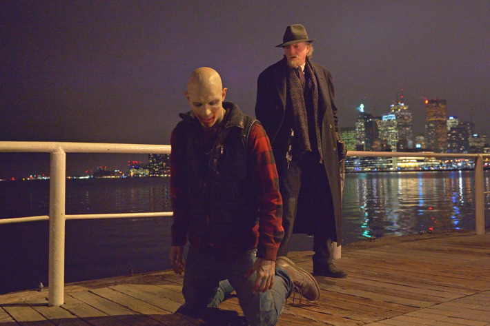 """THE STRAIN -- """"Fort Defiance"""" -- Episode 203 (Airs July 26, 10:00 pm e/p) Pictured: (right) David Bradley as Abraham Setrakian.CR: Michael Gibson/FX"""