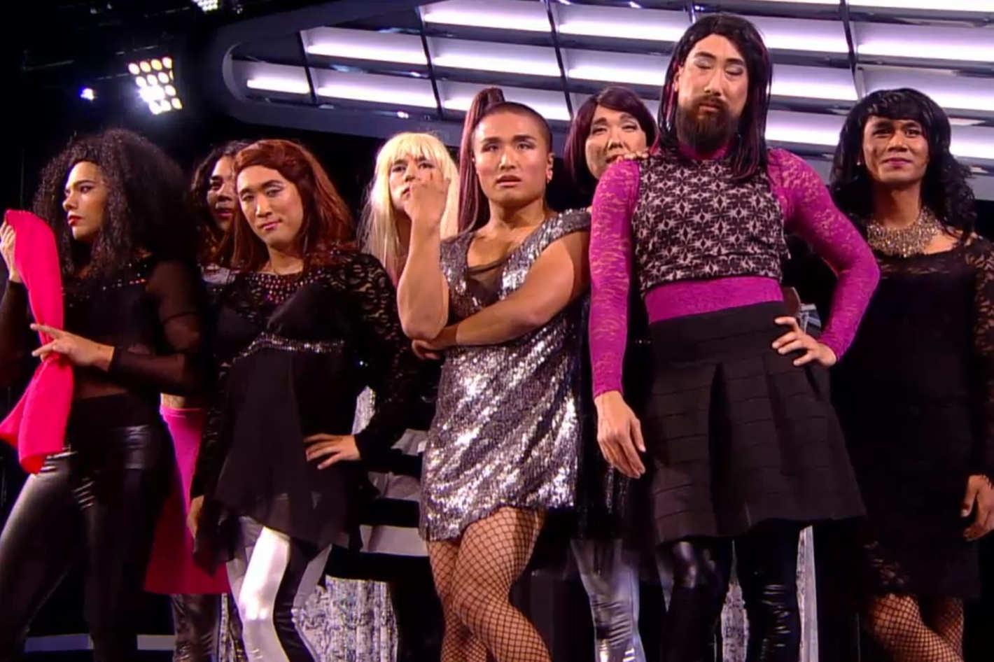 Watch Quest Crews Ariana Grande Drag Performance On Americas Best Dance Crew