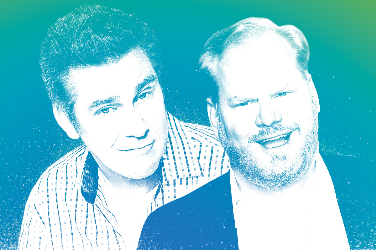 jim gaffigan talks to brian regan about hating being called a clean