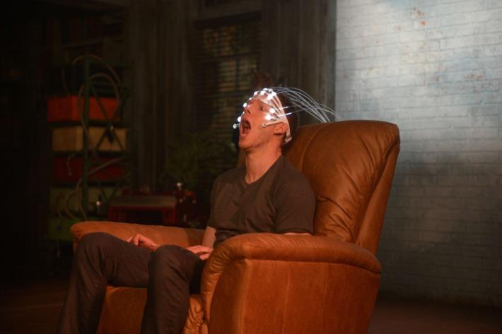 "MINORITY REPORT: Dash (Stark Sands) in the all-new ""Hawk-Eye"" episode of MINORITY REPORT airing Monday, Oct. 5."