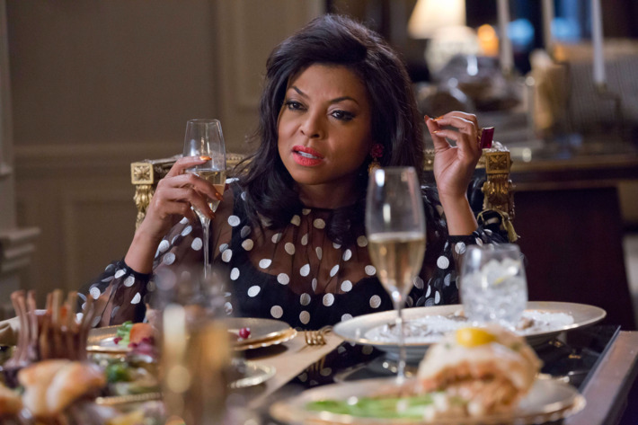"""EMPIRE: Taraji P. Henson as Cookie Lyon in the """"Fires Of Heaven"""" episode of EMPIRE airing Wednesday, Oct. 7 (9:00-10:00 PM ET/PT) on FOX. ©2015 Fox Broadcasting Co. Cr: Chuck Hodes/FOX."""
