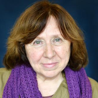 Svetlana Alexievich Portrait Session