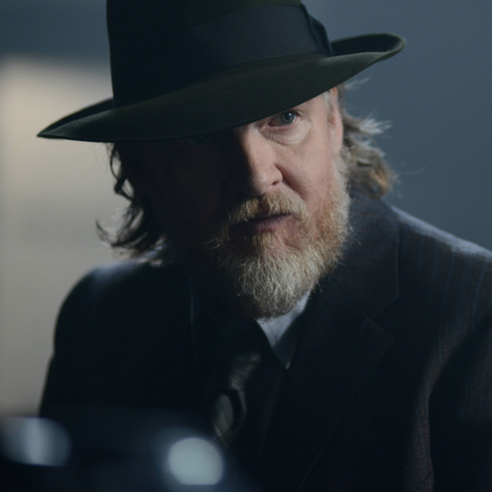 "GOTHAM: Bullock (Donal Logue) in the ""Rise of the Villains: Strike Force"" episode of GOTHAM airing Monday, Oct. 12 (8:00-9:00 PM ET/PT) on FOX. ©2015 Fox Broadcasting Co. Cr: FOX."