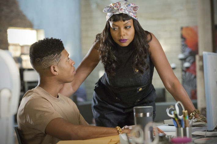 EMPIRE: Pictured L-R: Bryshere Gray as Hakeem Lyon and Taraji P. Henson as Cookie Lyon in the ÒPoor YorickÓ episode of EMPIRE airing Wednesday, Oct. 14 (9:00-10:00 PM ET/PT) on FOX. ©2015 Fox Broadcasting Co. Cr: Chuck Hodes/FOX.