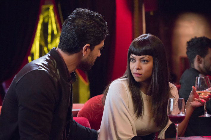 """EMPIRE: L-R: Guest star Adam Rodriguez and Taraji P. Henson in the """"A High Hope For A Low Heaven"""" episode of EMPIRE airing Wednesday, Nov. 4 (9:00-10:00 PM ET/PT) on FOX. ©2015 Fox Broadcasting Co. Cr: Chuck Hodes/FOX."""