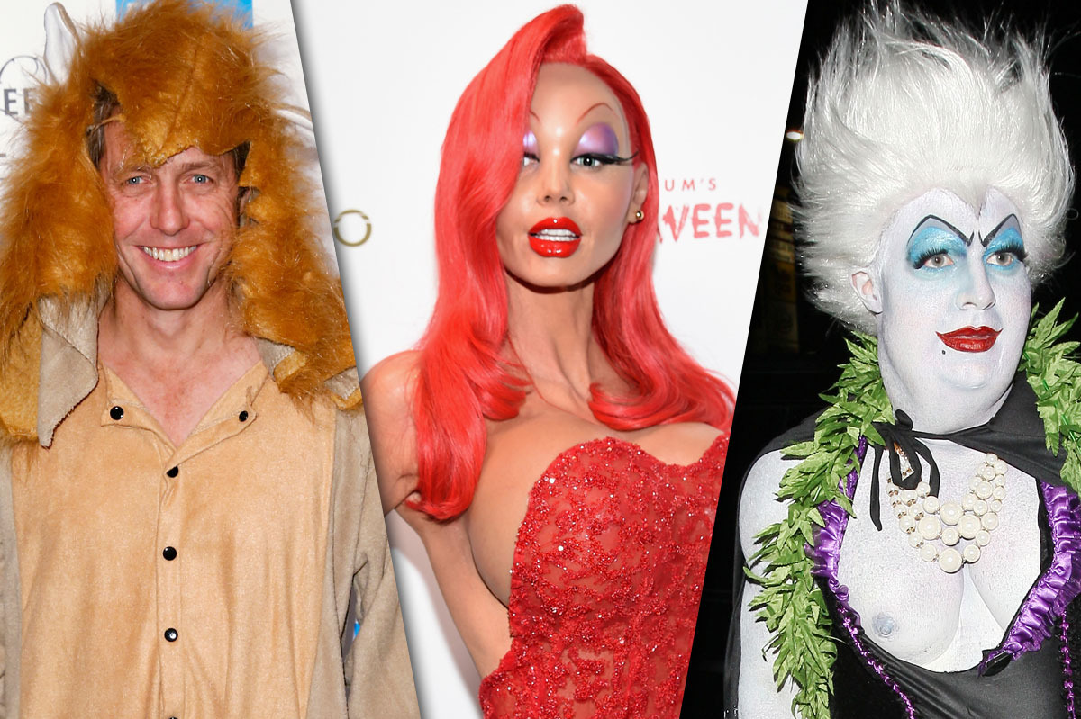 best and worst celebrity halloween costumes of 2015: from heidi klum