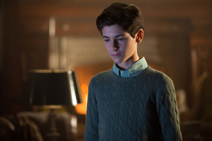 "GOTHAM: L-R: David Mazouz in the ""Rise of the Villains: Mommy's Little Monster"" episode of GOTHAM airing Monday, Nov. 2 (8:00-9:00 PM ET/PT) on FOX. ©2015 Fox Broadcasting Co. Cr: FOX."