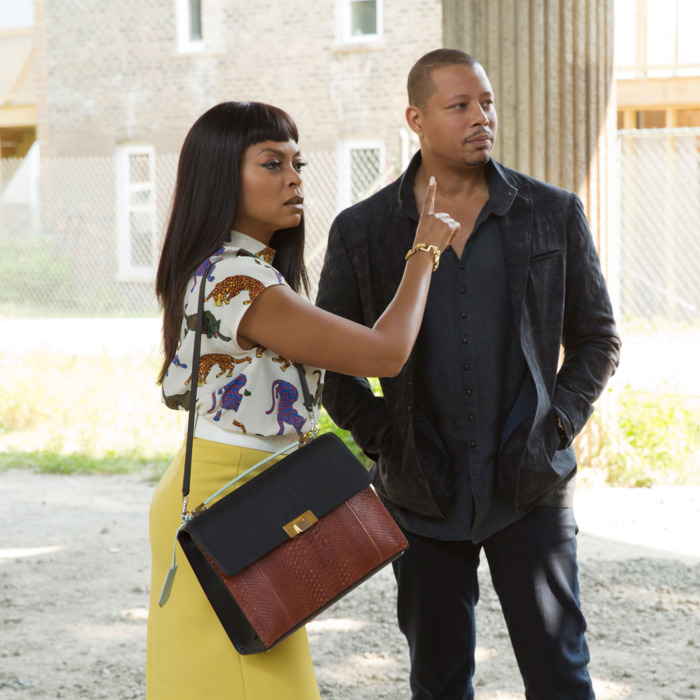 """EMPIRE: L-R: Taraji P. Henson and Terrence Howard in the """"A High Hope For A Low Heaven"""" episode of EMPIRE airing Wednesday, Nov. 4 (9:00-10:00 PM ET/PT) on FOX. ©2015 Fox Broadcasting Co. Cr: Chuck Hodes/FOX."""
