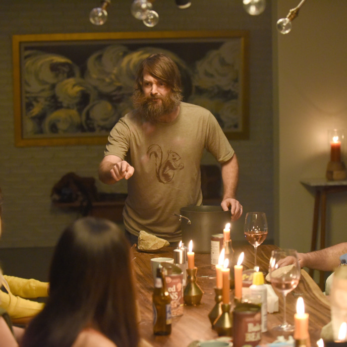 THE LAST MAN ON EARTH: L-R: Will Forte, Mel Rodriguez and Mary Steenburgen in the