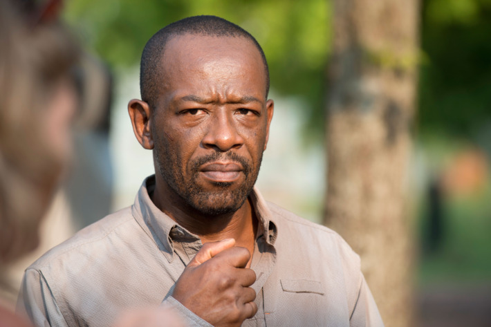 Lennie James as Morgan Jones - The Walking Dead _ Season 6, Episode 7 - Photo Credit: Gene Page/AMC