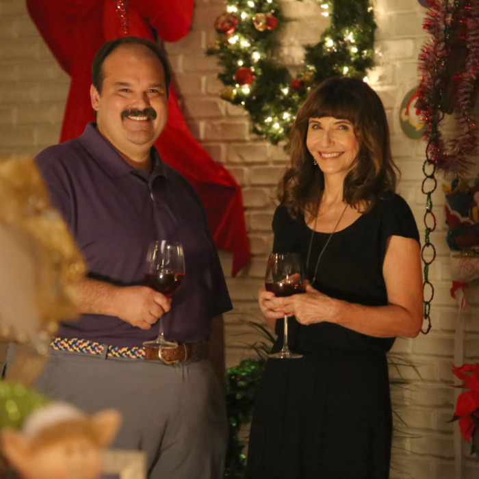 THE LAST MAN ON EARTH: L-R: Mel Rodriguez and Mary Steenburgen in the
